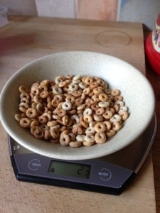 weighing cereal 7 day 7 exchange