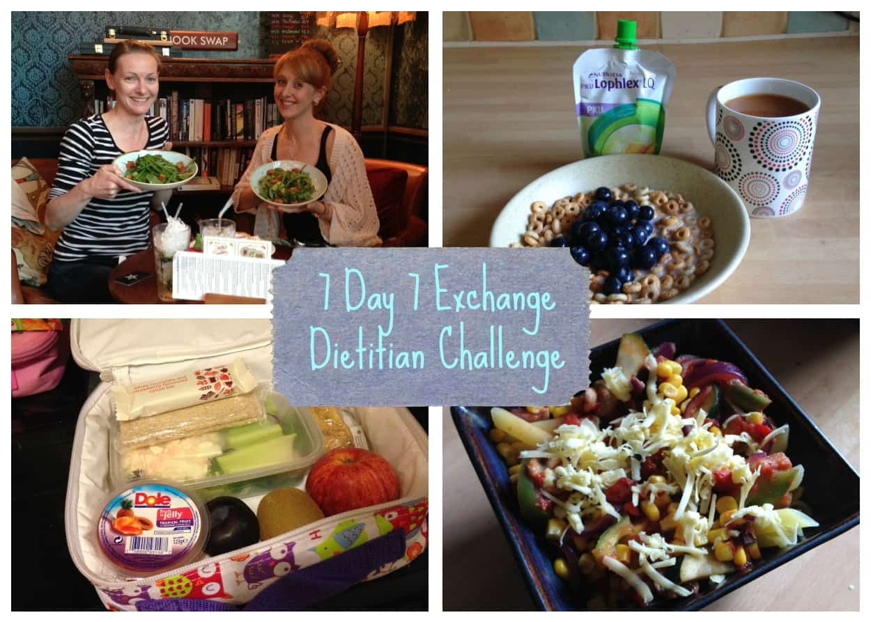 The 7 day 7 Exchange Dietitian Challenge – Round up