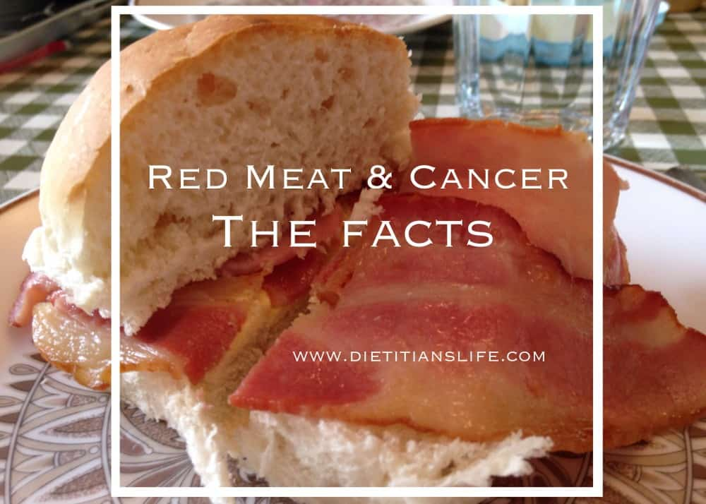 Red Meat and Cancer: The Facts