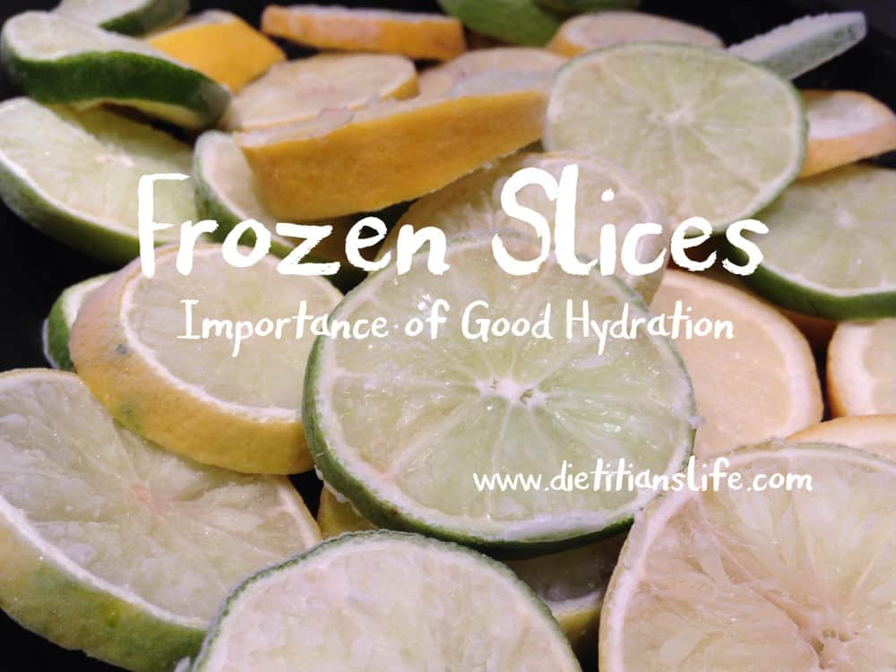 Fozen Slices: Keeping Hydrated
