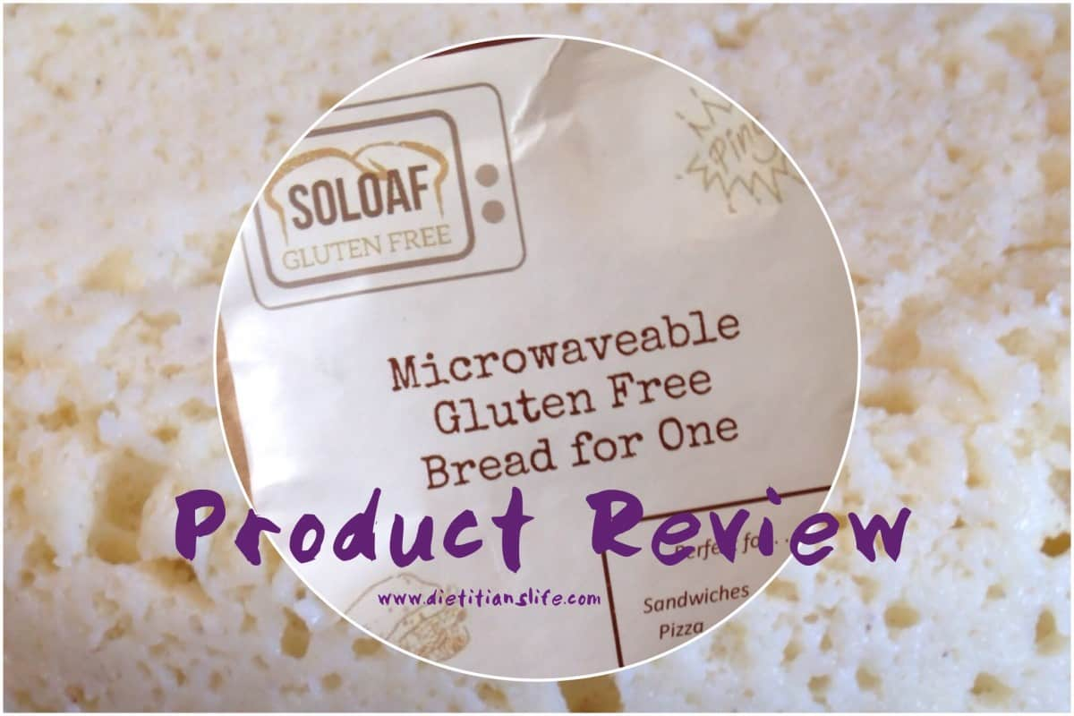 Product Review: Microwaveable Gluten Free Bread