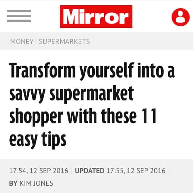 savvy supermarket shopper