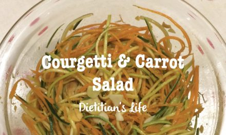 Courgetti and Carrot Salad