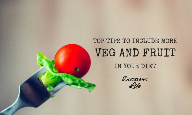 Top Tips To Include More Veg And Fruit In Your Diet