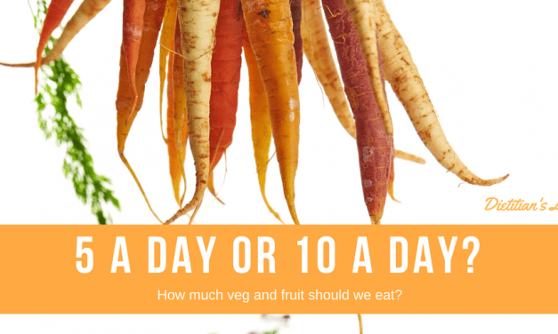5 a day or 10 a day?