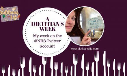 A Dietitian's Week; My @NHS Twitter experience