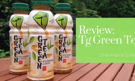 Review: Tg Green Tea