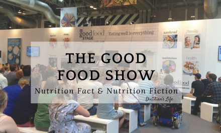 The Good Food Show: Nutrition Fact & Nutrition Fiction