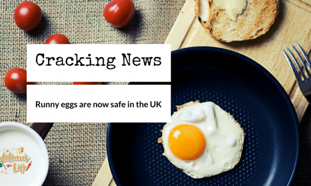 Cracking news; Runny Eggs are now safe in the UK