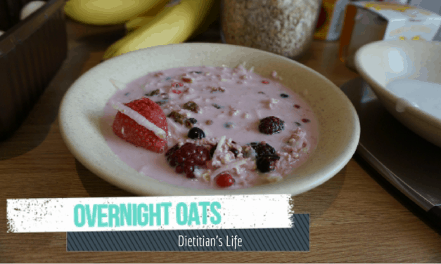 Low Protein Overnight Oats