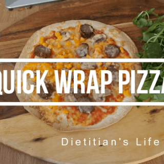 quick wrap pizza