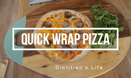Quick Wrap Pizza