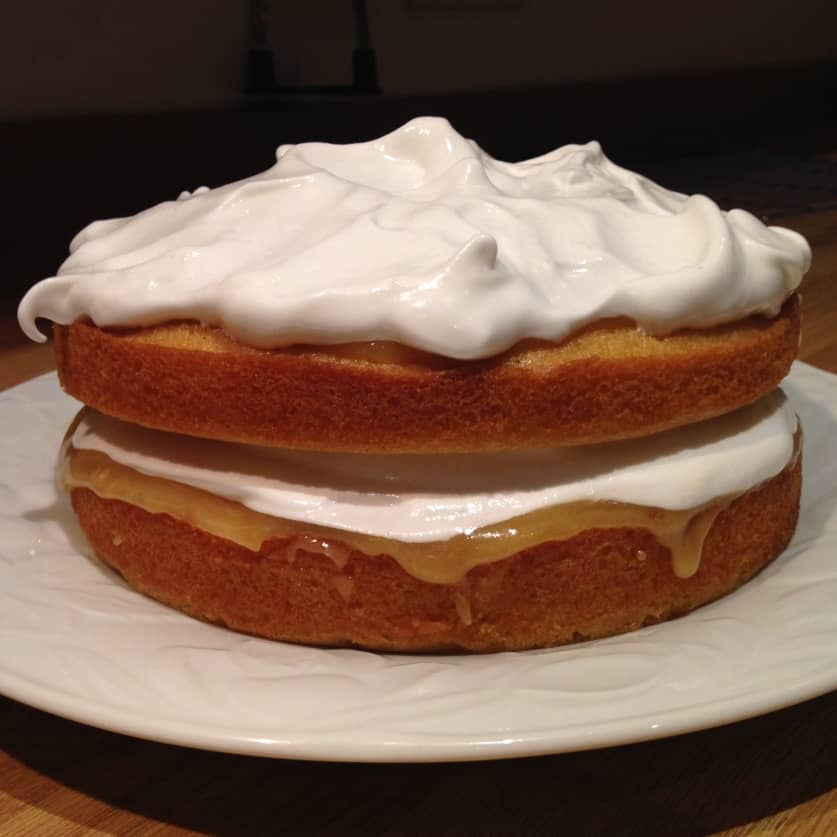 Lemon Meringue Cake Just Bakit