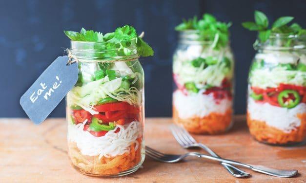 Jam Jar Noodles