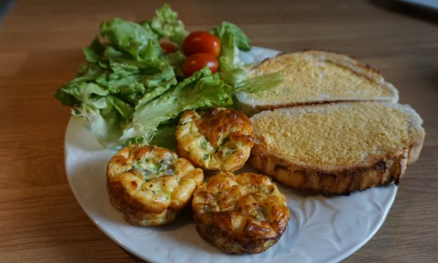 Courgette Egg Muffins
