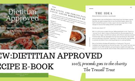 Dietitian Approved Recipe Book; Recipes by UK Dietitians
