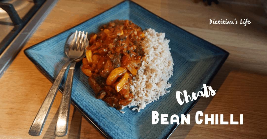 Cheats Mixed Bean Chilli Recipe