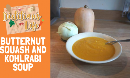 Butternut Squash and Kohlrabi Soup